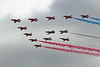 Airshow Fairford 2014 - Red Arrows