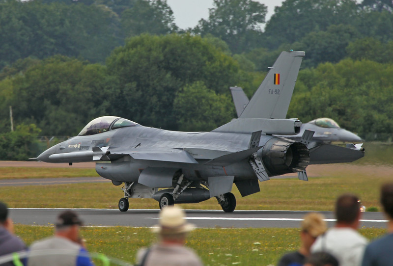 Airshow Fairford 2014 - F-16AM (Belgium)