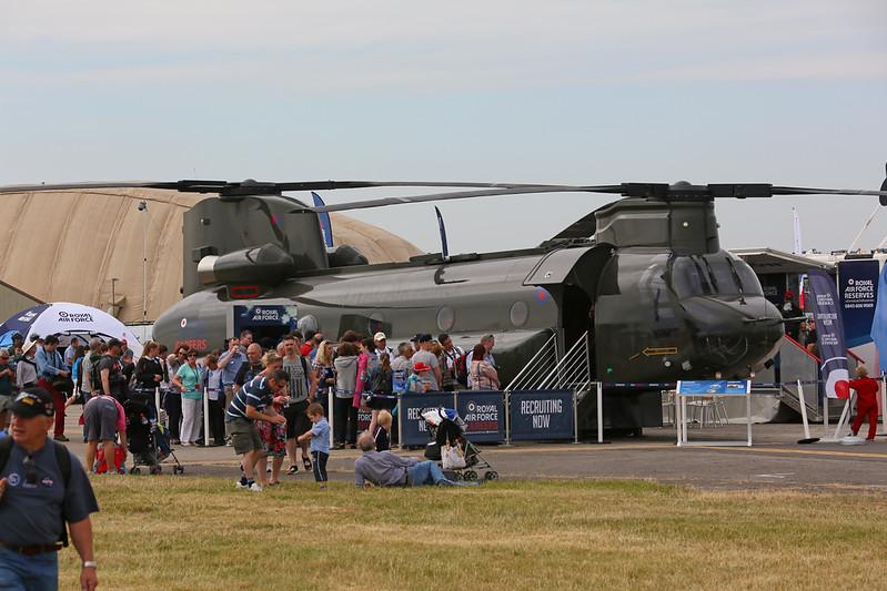 Airshow Fairford 2014 - Chinook