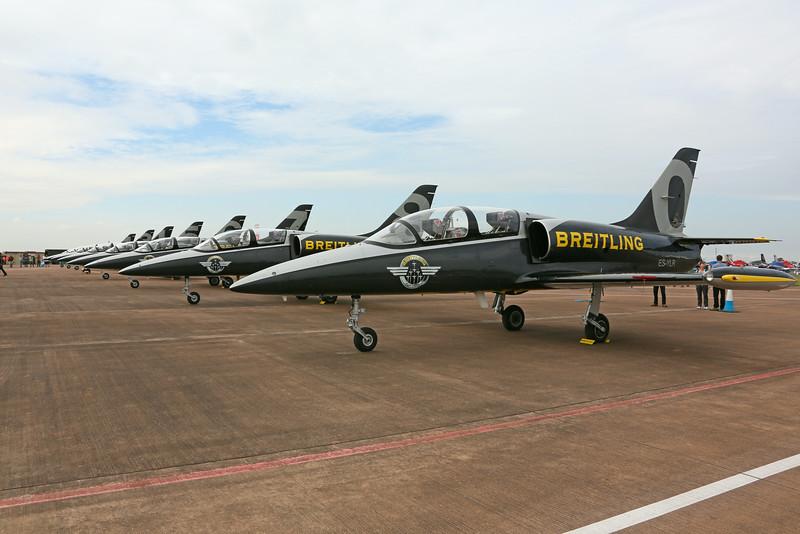 Airshow Fairford 2014 - Breitling Jet Team