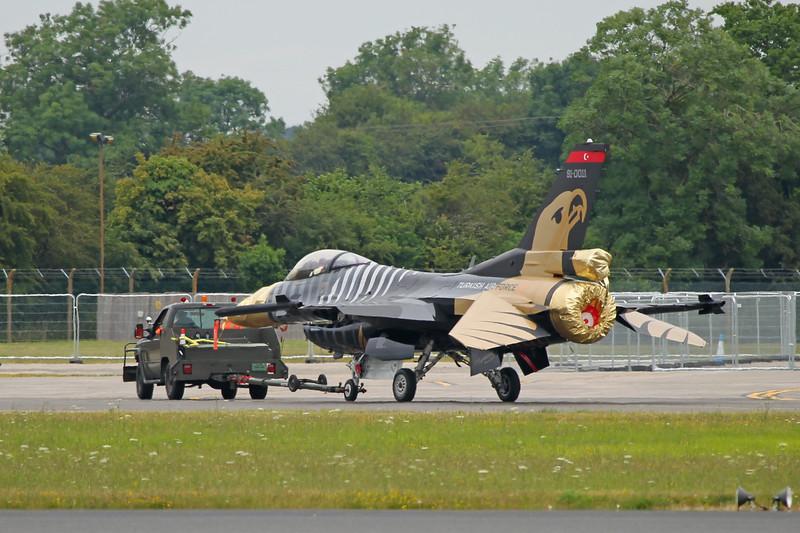 Airshow Fairford 2014 - F-16C (Turkey)