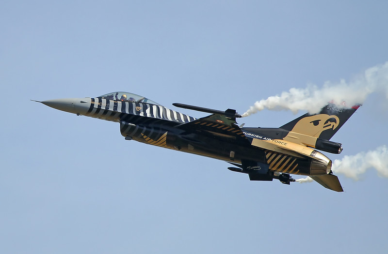 Airshow Fairford 2014 - Turkish Air Force F-16C Fighting Falcon