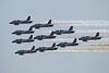 Airshow Fairford 2014 - MB339 PAN - Frecce Tricolori