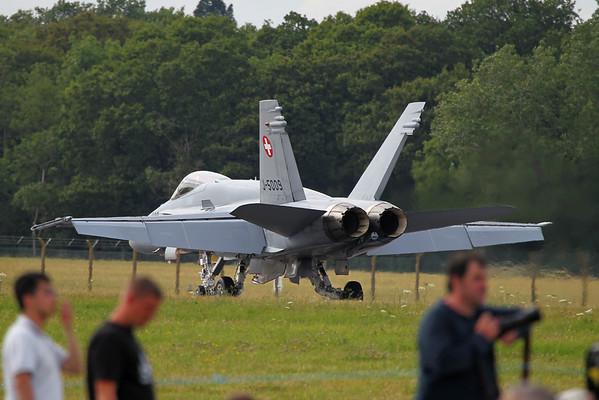 Airshow Fairford 2014 - F/A-18 Hornet (Switzerland)