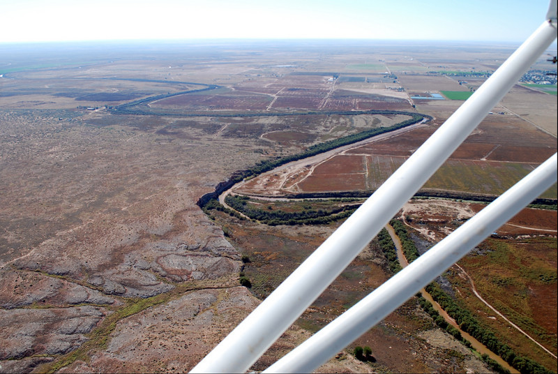 The mighty Pecos River.