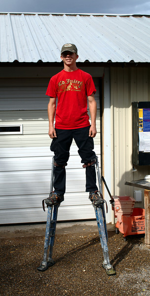 Yay stilts!