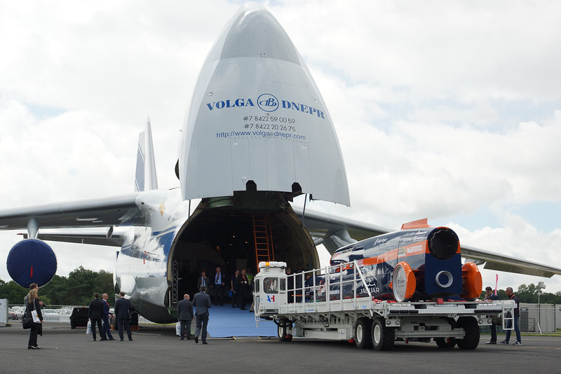 Transport for the Bloodhound SSC