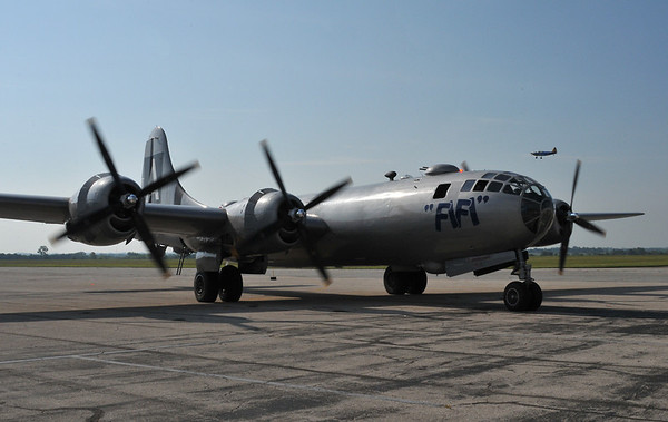 FiFi B29 at CAF Air Show Olathe Ks 7.16.2011