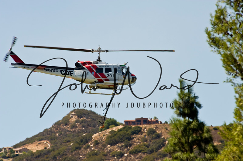 Fire helicopters