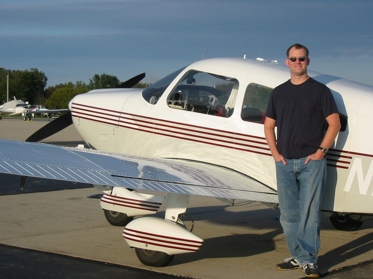 Hard not to feel confident on the day you get your Pilot's License