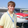 It was Austin Moran's 16th birthday on Monday and his plans for the day were to take his first solo flight out of the Fitchburg Airport.   SENTINEL & ENTERPRISE/JOHN LOVE