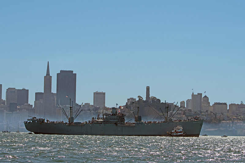 The liberty ship Jeremiah O'Brien.