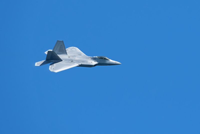 The Lockheed Martin F-22 Raptor is a fifth-generation, single-seat, twin-engine, all-weather stealth tactical fighter aircraft developed for the United States Air Force (USAF).