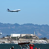 Dreamliner over Alcatraz