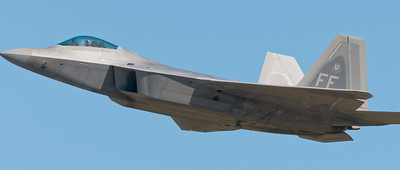 F22 Raptor from Langley AFB, VA