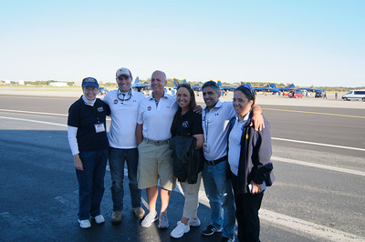 Volunteers at Martin State Airport