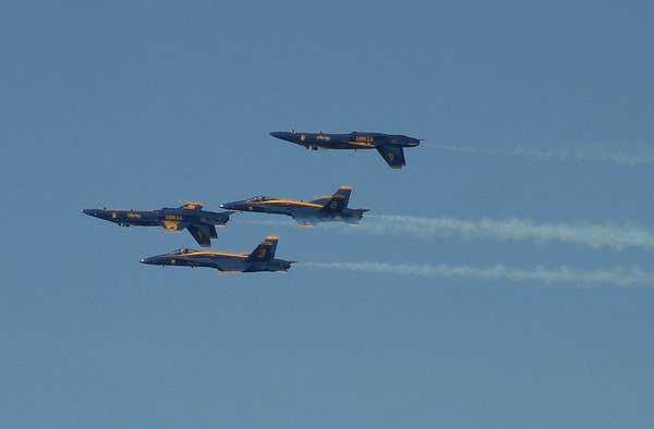Fleet Week with the Blue Angels 2006