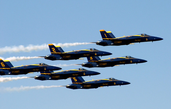 Fleet Week with the Blue Angels 2007