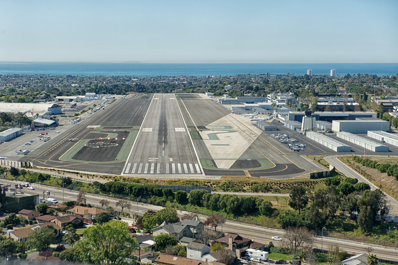 Santa Monica Airport Ready for Our Approach