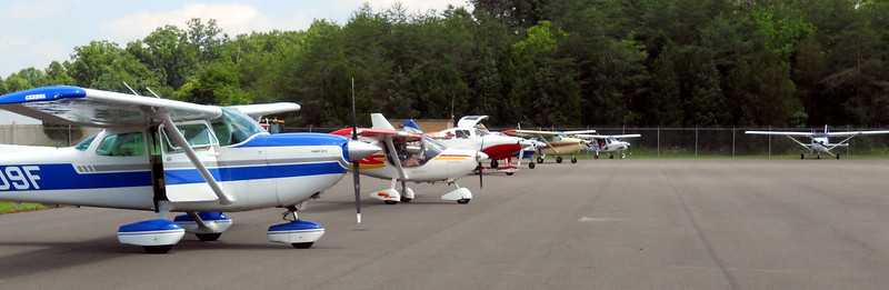 The Flight Line.