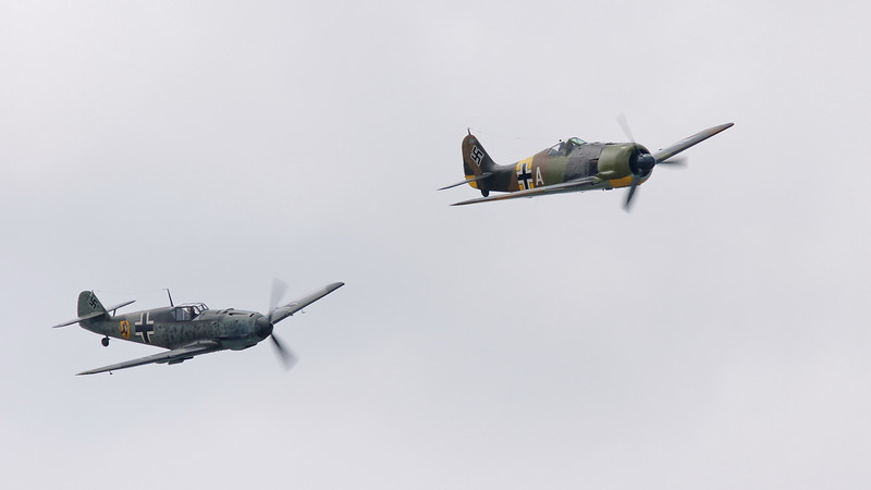 Flying Heritage Collection Luftwaffe Day at Paine Field, Everett Washington