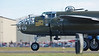 """FHC North American B-25J Mitchell """"Buster"""" - good crowd at FHC for last official fly day of the season."""