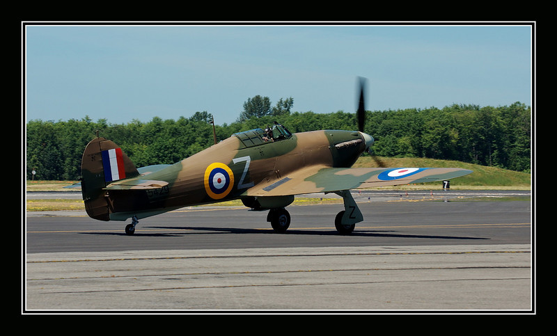 Hawker Hurricane Mk XIIA @ Flying Heritage Collection, Paine Field, Everett, WA USA.