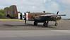 """North American B-25D Mitchell """"Grumpy"""" - post flight."""