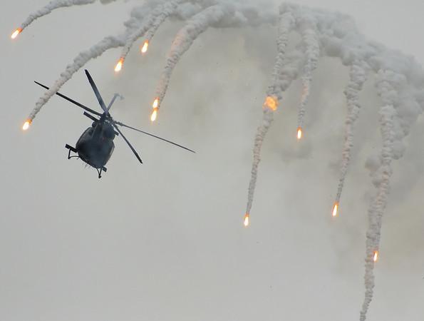 RNoAF Bell 412SP anti-terror demo