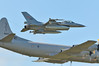 RNoAF F-16 snuggles up to a P-3N.