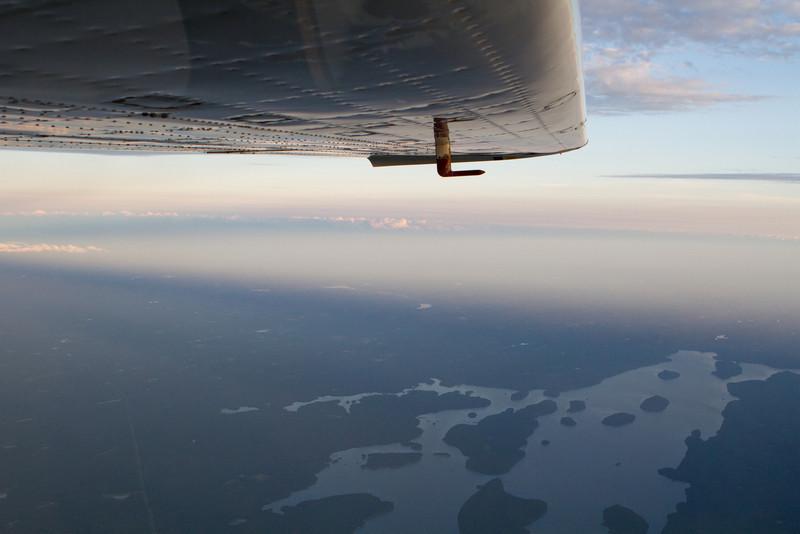 The Quabbin from far above.