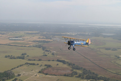 Flying in a Stearman