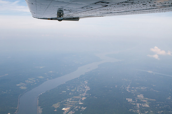 Flying to Cumberland, MD