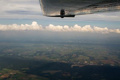 Pennsylvania ridges and farmland. - Copyright (c) 2012 Daniel Noe