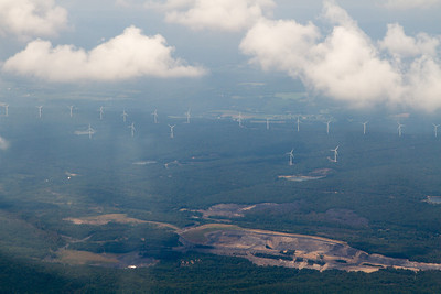 Wind Power and mining in PA. - Copyright (c) 2012 Daniel Noe