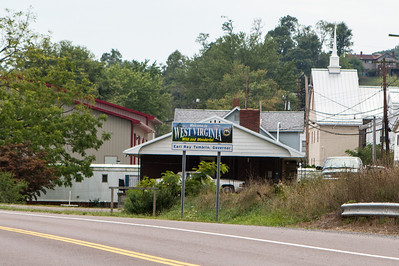 The airport is technically in Wiley Ford, West Virginia. - Copyright (c) 2012 Daniel Noe