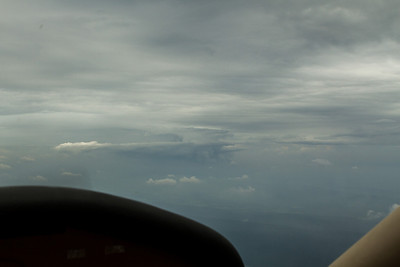 Angrier clouds to the east over NJ. - Copyright (c) 2012 Daniel Noe