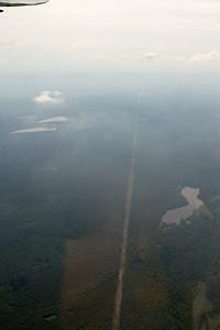 Straight line of power lines. - Copyright (c) 2012 Daniel Noe