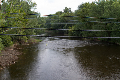 The upper Potomac river (ugly powerlines and not enough time to get a better shot...) - Copyright (c) 2012 Daniel Noe