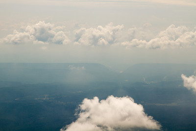 The Delaware Water Gap in the haze. - Copyright (c) 2012 Daniel Noe