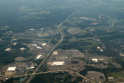 """Highway intersections and shopping malls in the southeastern part of """"upstate NY"""". - Copyright (c) 2012 Daniel Noe"""