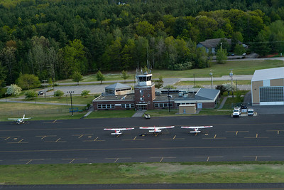 View of the control tower right after departing Nashua. - Copyright (c) 2013 Daniel Noe