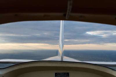 A view to the rear... I rarely get to photograph this!  Nice to have a passenger do it :) - Copyright (c) 2013 Daniel Noe