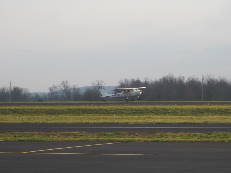 First solo landing, Bolivar MO (M17), Dec 12, 2012