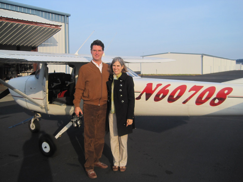 With Leslie on first solo, Bolivar MO (M17), Dec 12, 2012