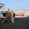 With Jack Reynolds, CFI, First solo, Bolivar MO (M17), Dec 12, 2012