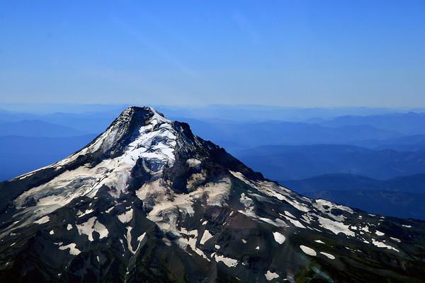 Mt Hood 11,235,Mountain Glacier,