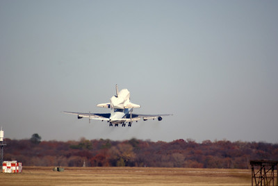 Fort Worth Space Shuttle Take-off