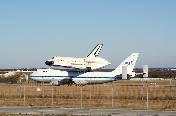 Fort Worth Space Shuttle