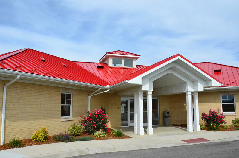 New Terminal Building at French Lick Airport